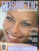 Cosmetic Beauty Magazine 2006 spring cover