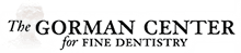The Gorman Center for Fine Dentistry mobile logo