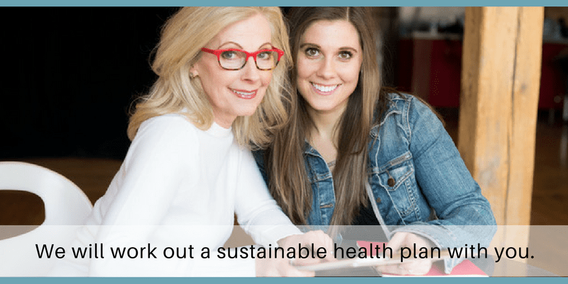 Dishing With My Daughter believes each health plan should be custom-tailored to the individual.