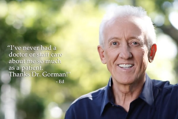Preview of Dr. Gorman's video addressing the FAQ about cosmetic Minneapolis dentistry.
