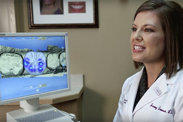 Video preview of The Gorman Center using the CEREC machine