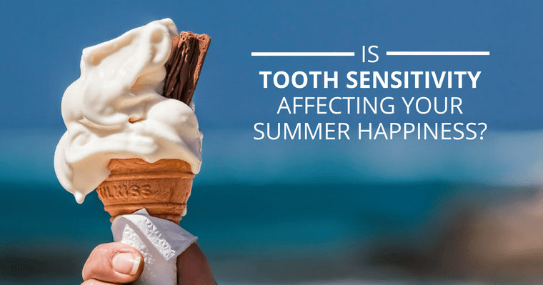 Instead of watching your ice cream melt, get rid of tooth sensitivity