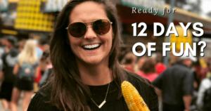 Dr. Gorman's dental team member enjoying corn on the cob at the Minnesota State Fair